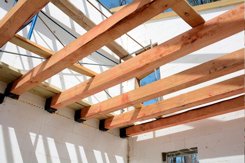 Viga de roble 2 x 6 x 360 cm durmientes de madera - Vigas de madera en valencia ...