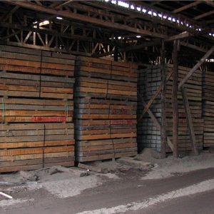 Durmiente Ferroviario Chileno